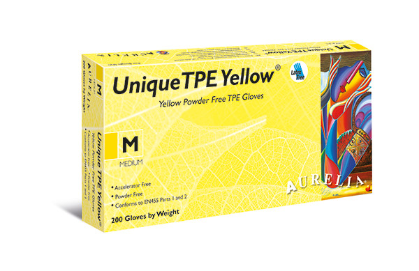 Unikaalne TPE Yellow®