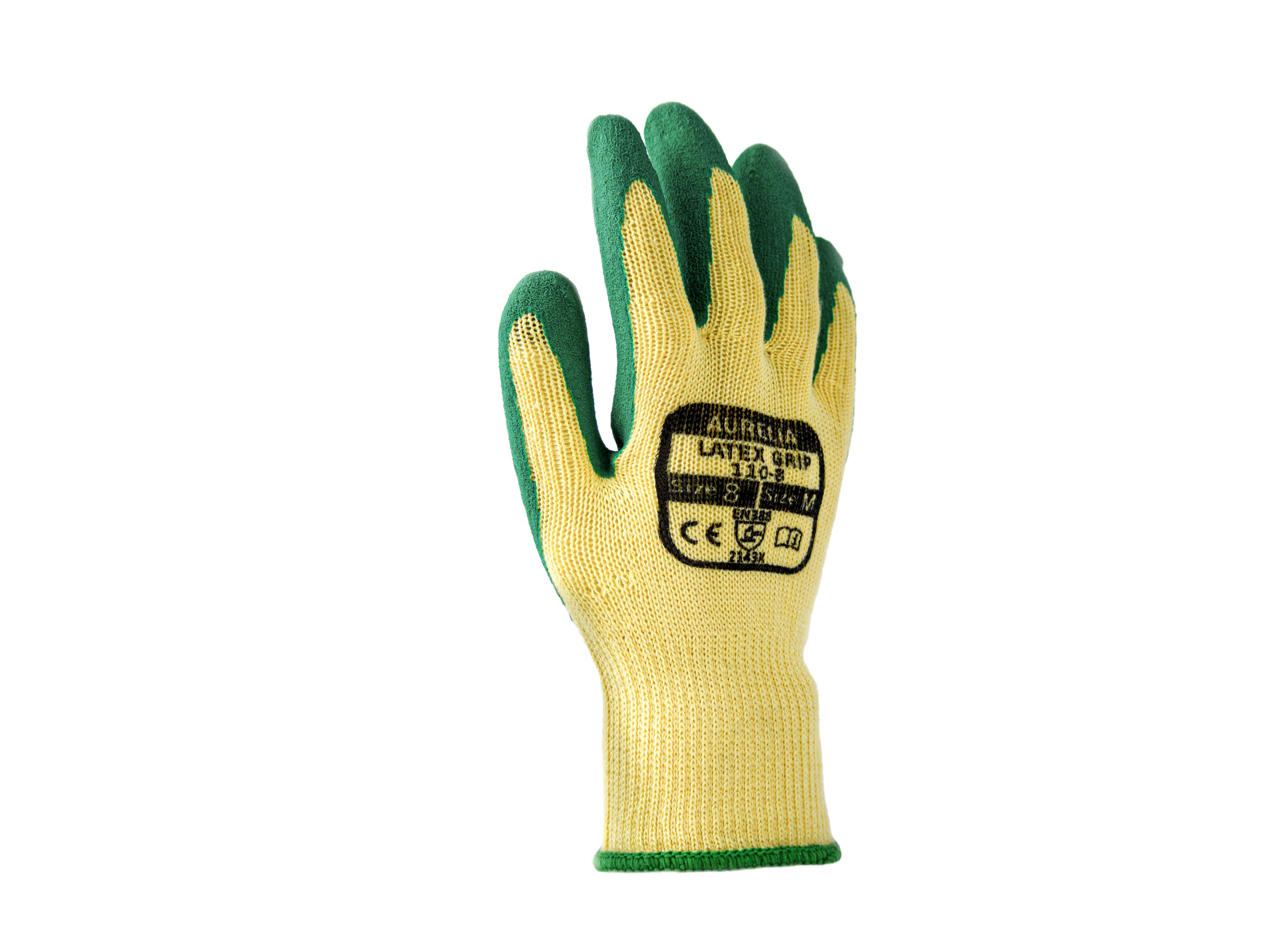 Aurelia Latex Grip Green 600