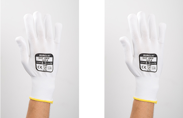 Aurelia Dot Grip Front Glove 600